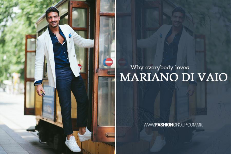 Момци, ако ви треба инспирација, Мариано ди Вајо е човекот за тоа!